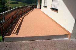 Terrassensanierung und Teilbereich Balkonsanierung nach Fertigstellung Freudenstadt, Baiersbronn.