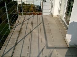 Balkon vor der Sanierung