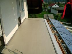 Balkonsanierung 1 Abschnitt ist erfolgt