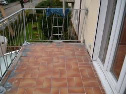 Balkon vor der Sanierung Detailaufnahme