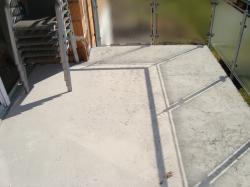 Balkon vorher