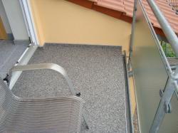 Balkon - Neugestaltung nacher