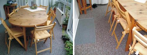Beispiele für schöne Bodenbeschichtungen