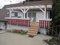 Terrasse und Treppe neu saniert und beschichtet