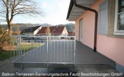 Terrasse nach der Sanierung